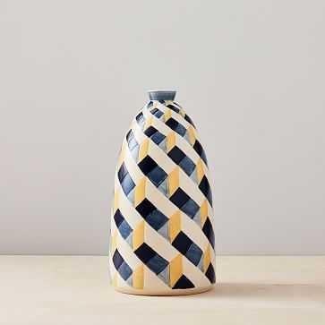 Cody Hoyt Ceramic Vase, Multi - West Elm