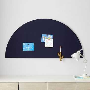 Portable Pinboard, Blue, WE Kids - West Elm