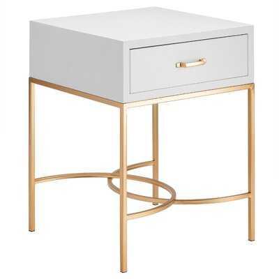 Menekse 1 - Drawer End Table - Wayfair