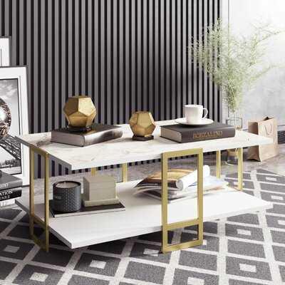 Bustillos Coffee Table with Storage - Wayfair