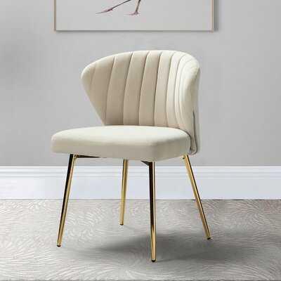 "Daulton 20"" Wide Velvet Side Chair - Wayfair"