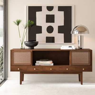 Simeon Cabinet/Enclosed storage TV Stand for TVs up to 70 inches - AllModern