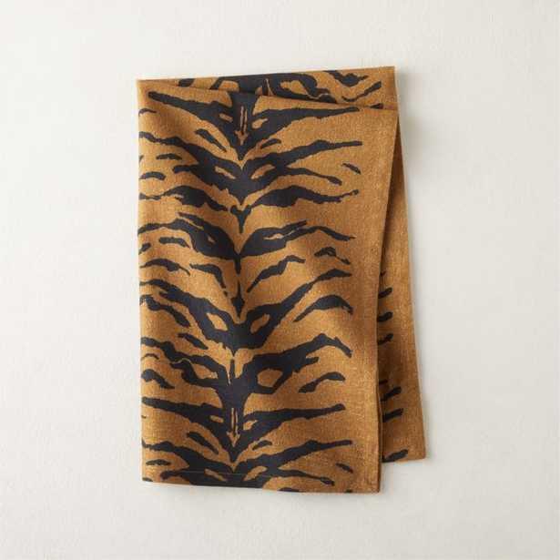 Washed Tiger Tea Towel - CB2