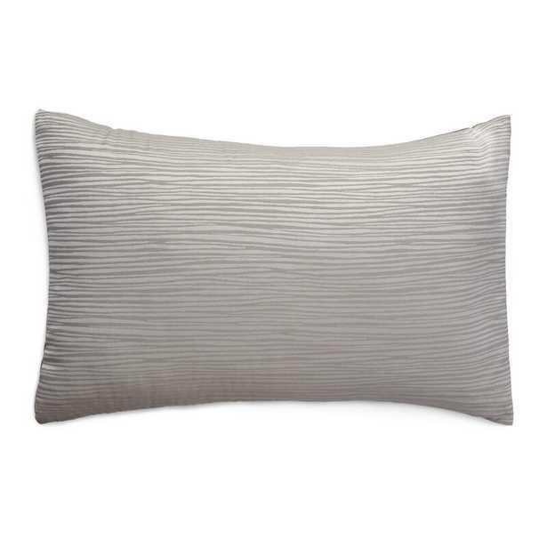 Donna Karan Reflection Sham Size: Queen, Color: Silver - Perigold