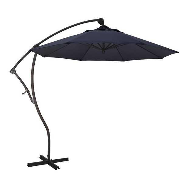 Bayside Series 9' Cantilever Umbrella Fabric: Navy Blue - Perigold