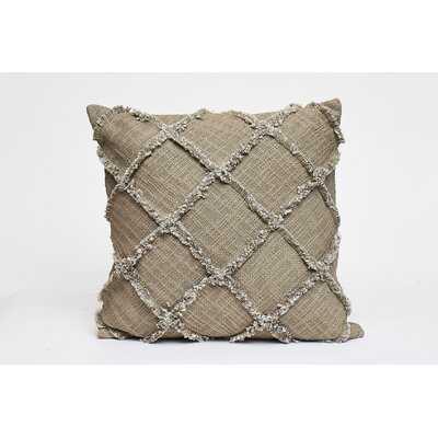 Patch Outline Fridge Square Cotton Pillow Cover & Insert - Wayfair