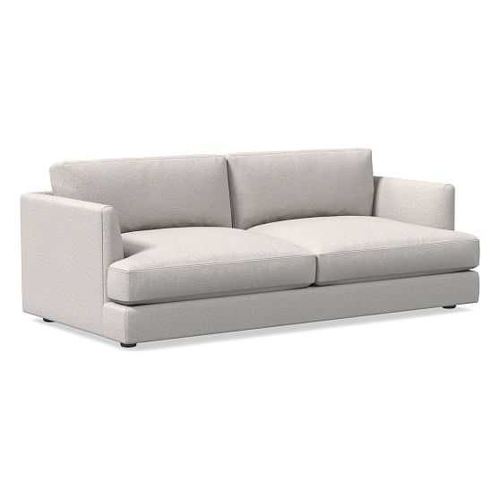 Haven Queen Sleeper Sofa, Trillium, Twill, Wheat, Concealed Supports - West Elm
