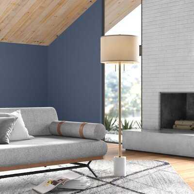 """Dametta 62"""" Traditional Floor Lamp - AllModern"""