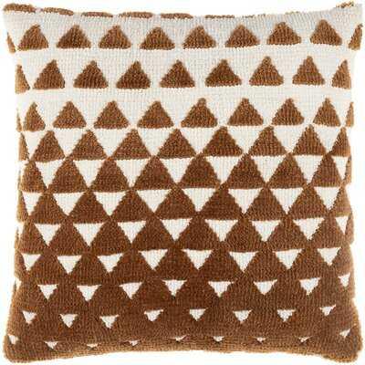 Damascus Square 100% Cotton Pillow Cover - Wayfair