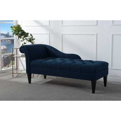Jeppesen Tufted Right Recessed Arms Chaise Lounge - Wayfair