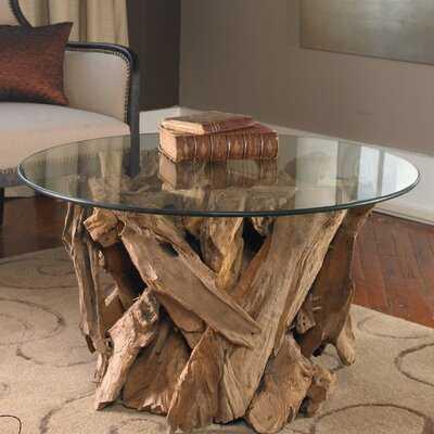 Cindi Driftwood Coffee Table - Wayfair