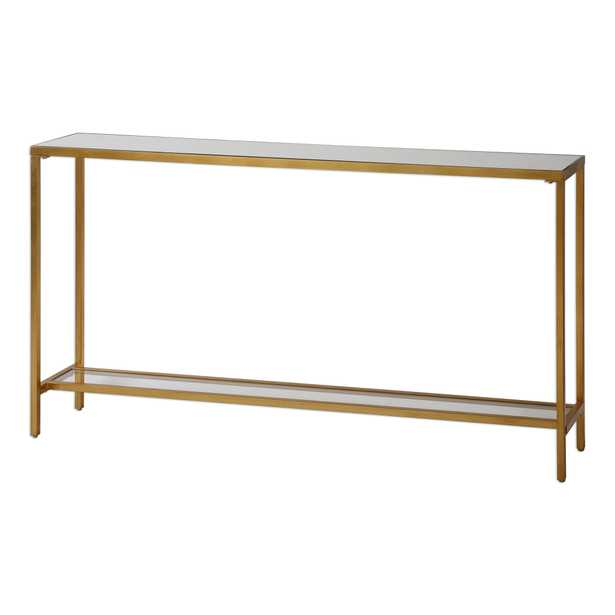 Hayley Gold Console Table - Hudsonhill Foundry