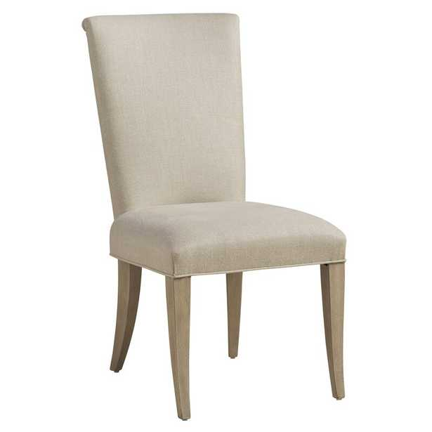 Malibu Upholstered Dining Chair Upholstery: Beige, Color: Beige - Perigold