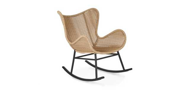 Beltaine Natural Rocking Chair - Article