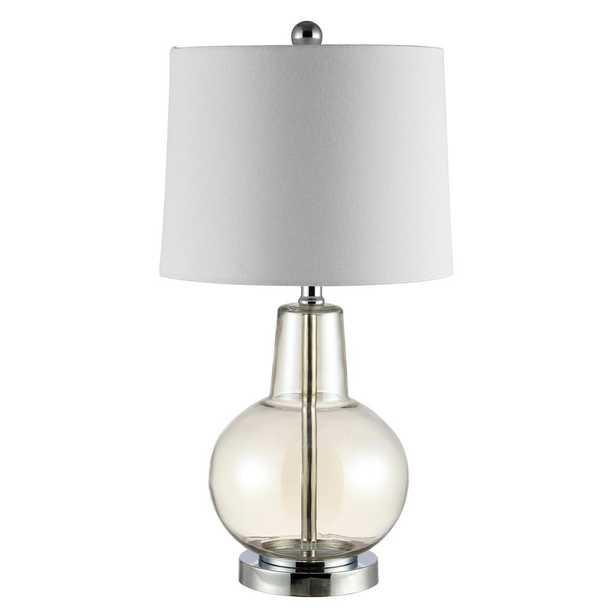 Safavieh Atlas 24 in. Luster Glass Table Lamp - Home Depot
