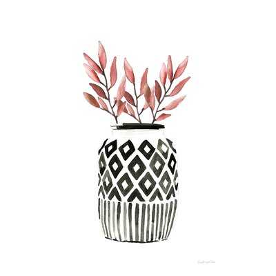Geometric Vases II by Mercedes Lopez Charro - Wrapped Canvas Painting Print - Wayfair