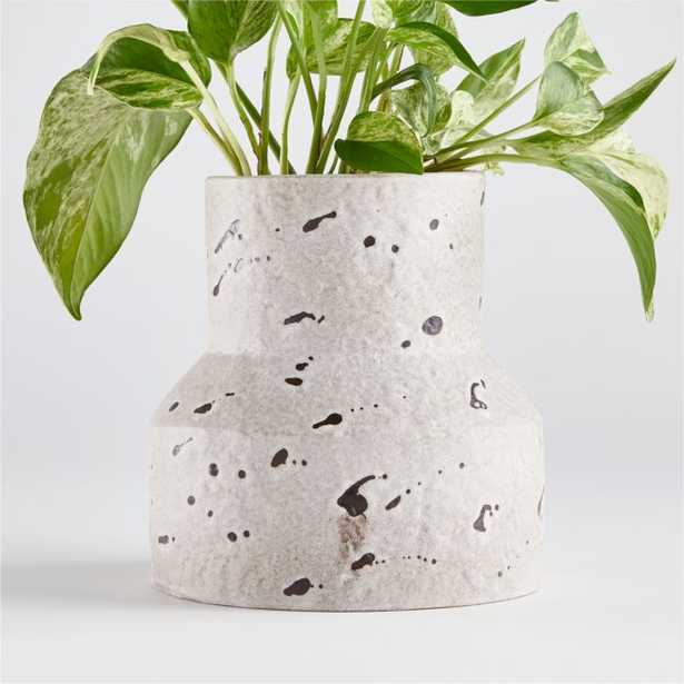 Field Geo Pot with Speckles - Crate and Barrel