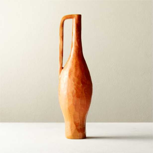Clio Carved Tall Jug - CB2