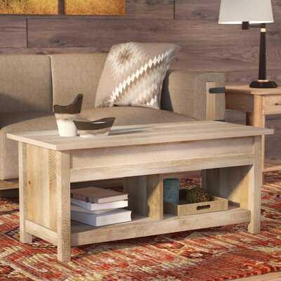 Tilden Lift Top Coffee Table with Storage - Wayfair