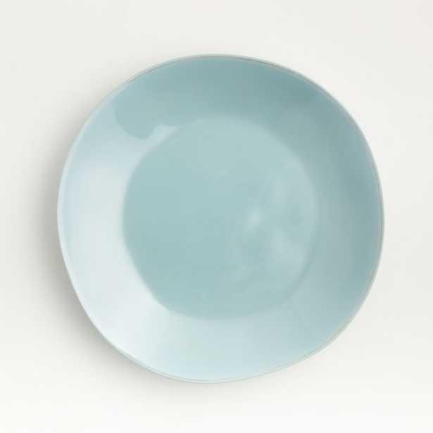 Marin Blue Melamine Dinner Plate - Crate and Barrel