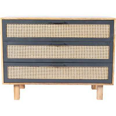 Rexdale 3 Drawer Accent Chest - Wayfair
