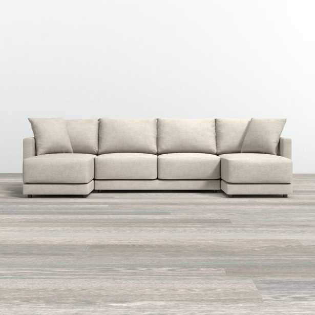 Gather Petite 3-Piece Sectional - Crate and Barrel