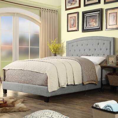 Pascal Upholstered Standard Bed - Wayfair