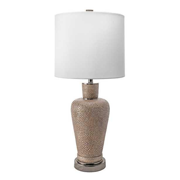"""Pasadena Metal Table Lamp, 32"""" - Loom 23"""