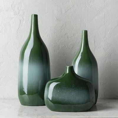 """Claire 18"""" Indoor/Outdoor Ceramic Table Vase - Wayfair"""