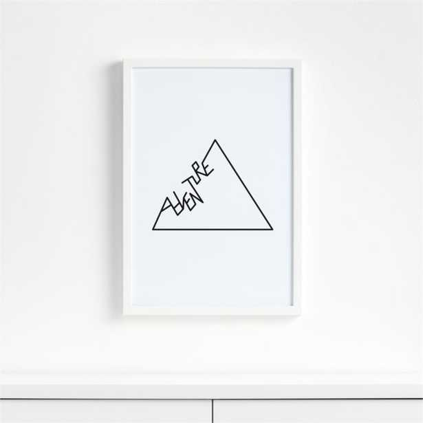 Adventure Framed Wall Art - Crate and Barrel
