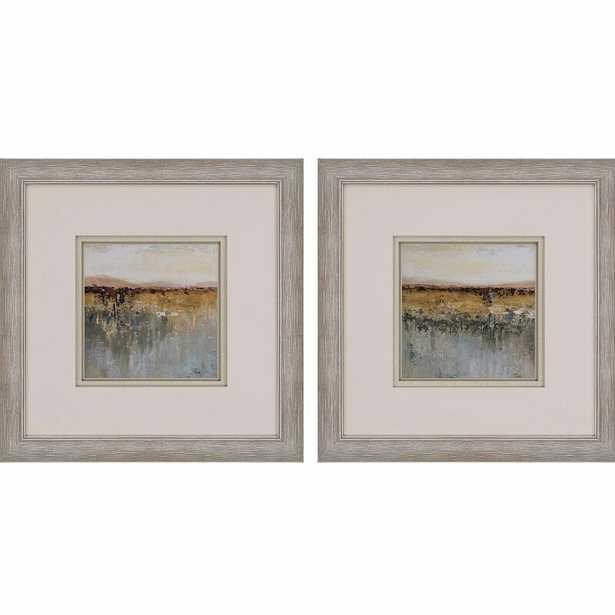 Paragon 'Antique Contemporary' - 2 Piece Picture Frame Painting Print Set on Paper - Perigold