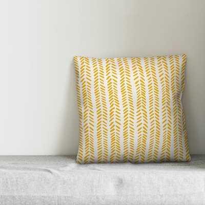 Flávio Modern Herringbone Throw Pillow - Wayfair