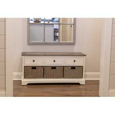 Ardina Drawers Storage Bench - Wayfair