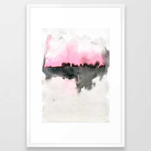 Ifb09 Framed Art Print by Georgiana Paraschiv - Vector White - LARGE (Gallery)-26x38 - Society6