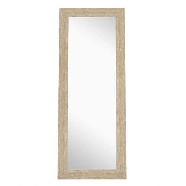 Naomi Home 72 in. x 28 in. Freestanding Rectangle Framed Cheval Floor Mirror - Home Depot