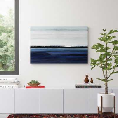 'At the Edge' Painting Print on Wrapped Canvas - AllModern