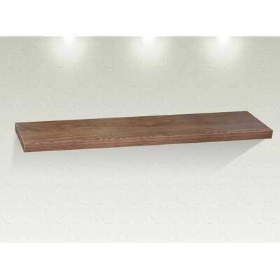 Raul Amy Floating Shelf with Reclaimed Wood - Wayfair