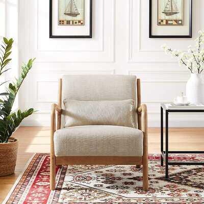 Matus 25.59'' W Linen Armchair - Wayfair