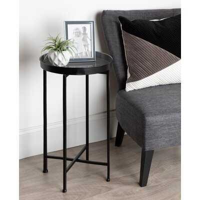 Alvis Cross Legs End Table - Wayfair