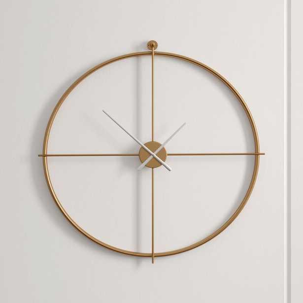 """Parsons 38"""" Wall Clock - Perigold"""