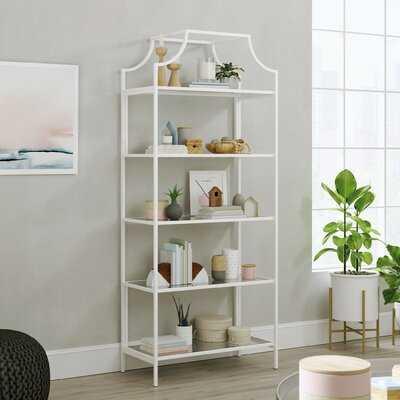 Rapp 70.87'' H x 30'' W Metal Etagere Bookcase - Wayfair