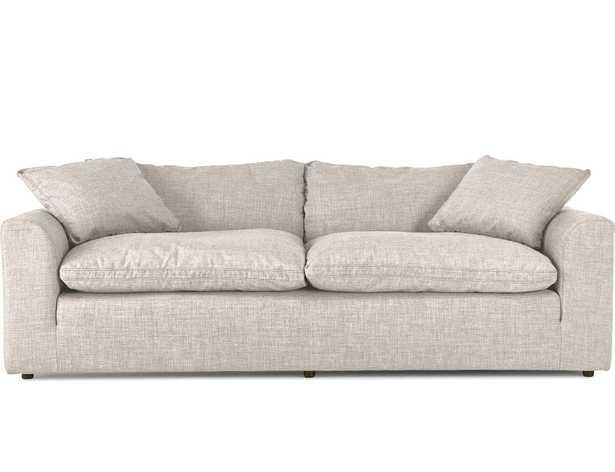 Beige/White Bryant Mid Century Modern Sofa - Merit Dove - Joybird