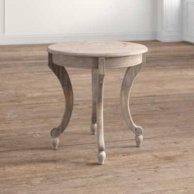 Cash Solid Wood End Table - Wayfair