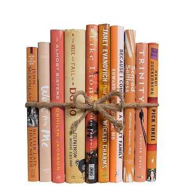 ColorPak Modern Book, Apricot Dust Jacket - West Elm