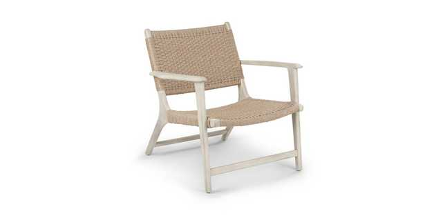Reni Brushed Taupe Lounge Chair - Article