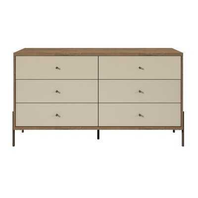 Alviso 6 Drawer Double Dresser - AllModern