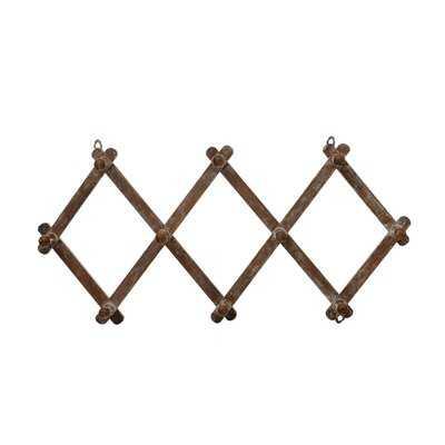 Solid Wood 10 - Hook Wall Hook - Wayfair
