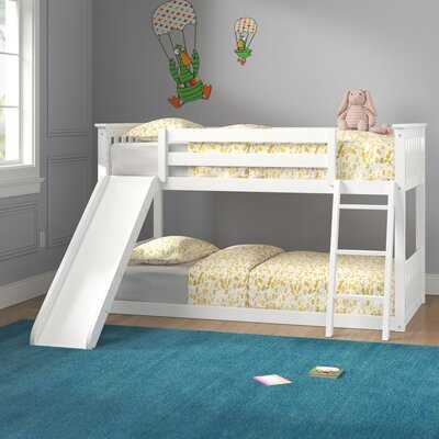Jeniffer Twin Over Twin Solid Wood Standard Bunk Bed - Wayfair