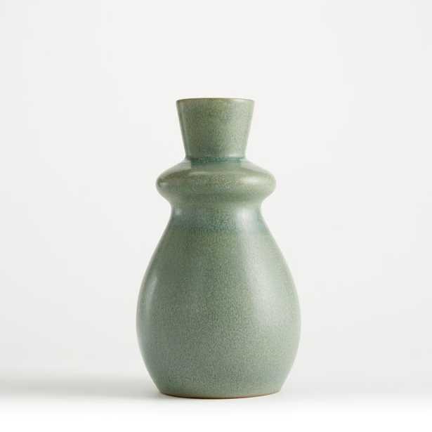 Mireya Pale Green Vase - Crate and Barrel