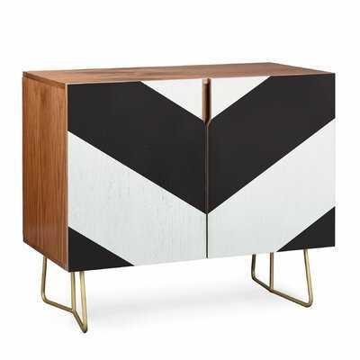 Triangle Footprint Accent Cabinet - Wayfair